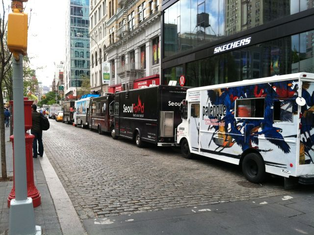 Union Square Food Trucks