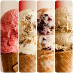 4 ice cream
