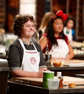 Alexander Weiss, MasterChef Junior Finalist  PHOTO CREDIT:  Greg Gayne/FOX