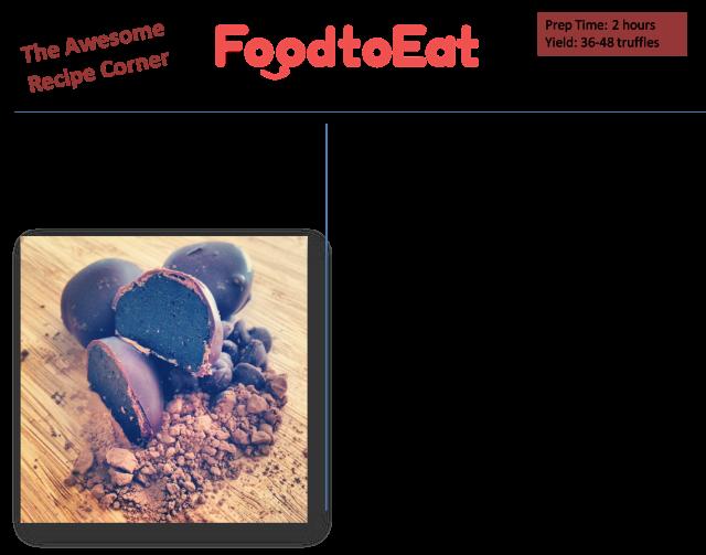 Oreo Truffles Recipe Card