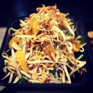 Bean Sprout Salad from Sweet Chili Food Truck
