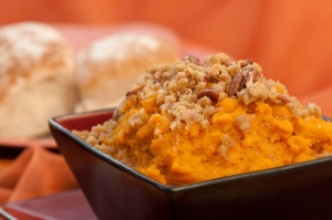 Sweet Potato Souffle (Photo Credit: www.sheknows.com)