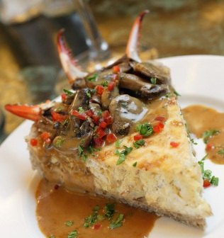 Crabmeat Cheesecake