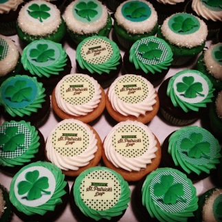 St. Patrick's Day Cupcakes from Sweet Generation