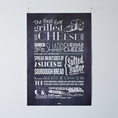 KTCHN13 Grilled Cheese Poster