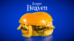 Cheeseburger from Burger Heaven