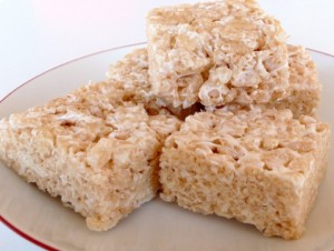 Boring old Rice Krispies