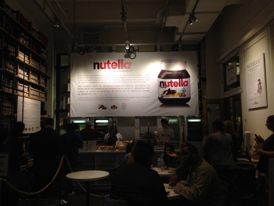 Eataly's Nutella Bar
