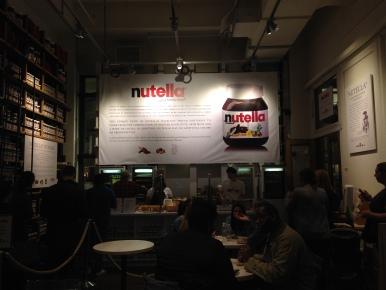 Eataly's Nutella Bar