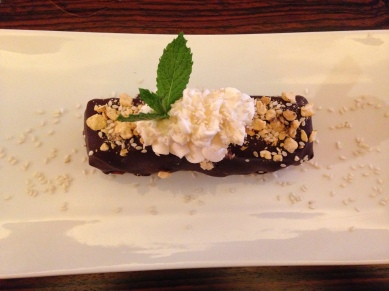 Chickpea, Chocolate & Caramel Bar