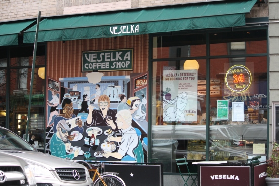 Veselka NYC (photo credit: Global City NYC)