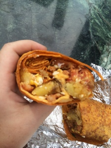 The Mexican Wrap from Eggstravaganza
