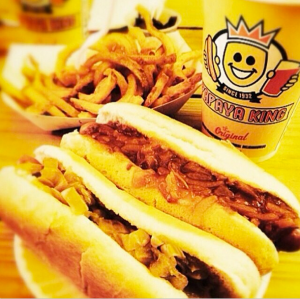Papaya King Hot Dog, Photo Credit: Papaya King