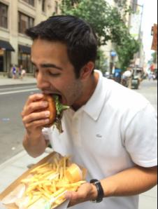 Frites'N'Meats Burger