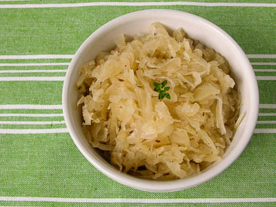 Braised Sauerkraut | Photo credit: Magnolia Days