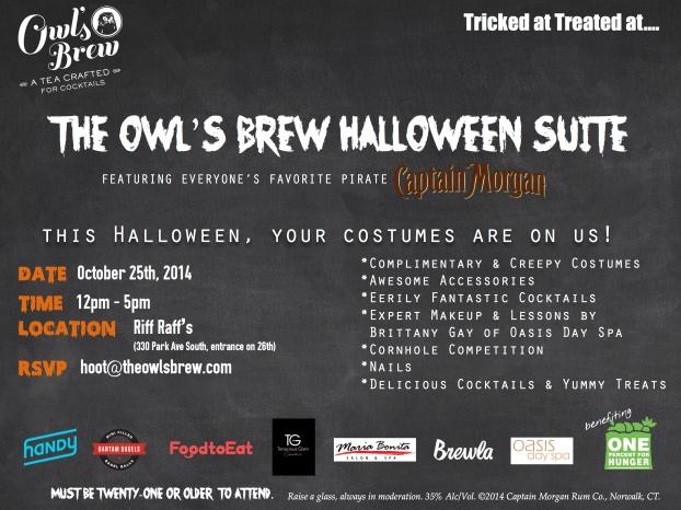 Halloween invite For blast