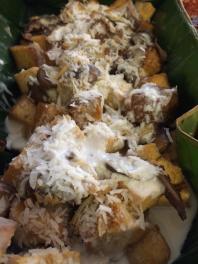 Bicol Tofu Mushroom