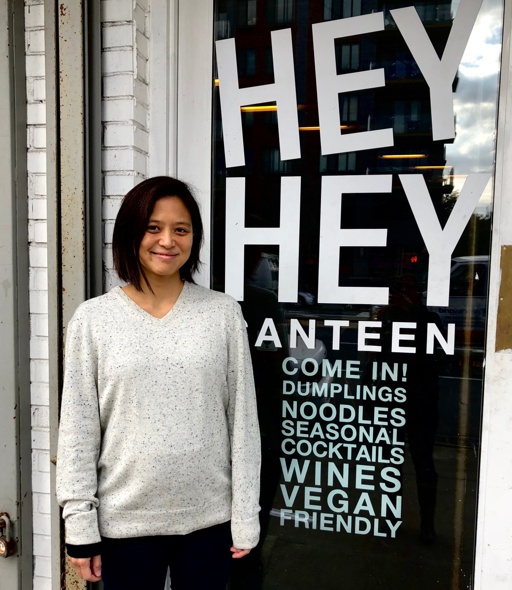 Kay Ch'ien, Owner of Hey Hey Canteen