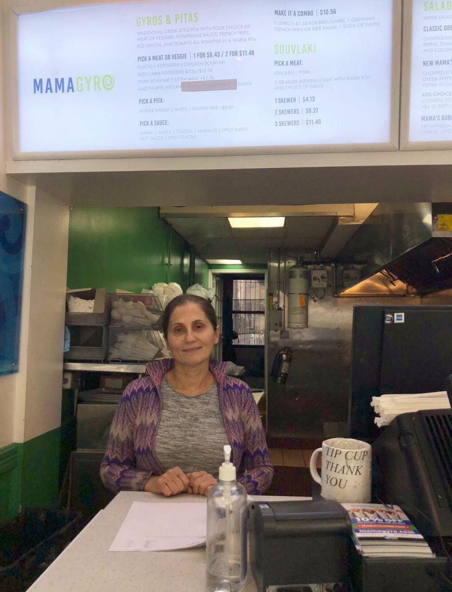 Stella Likitsakos, Owner of Mamagyro