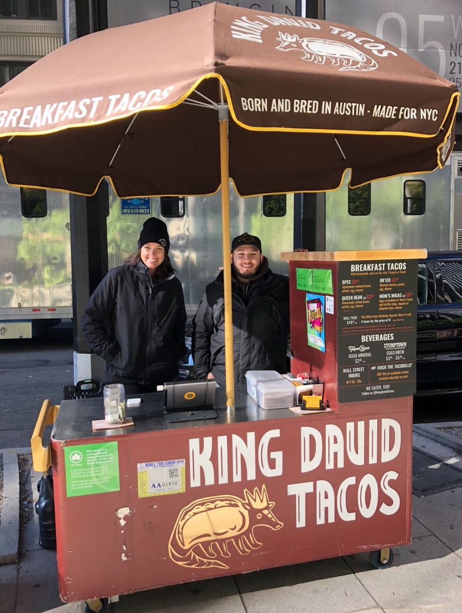 Liz Solomon, Founder and CEO of King David Tacos