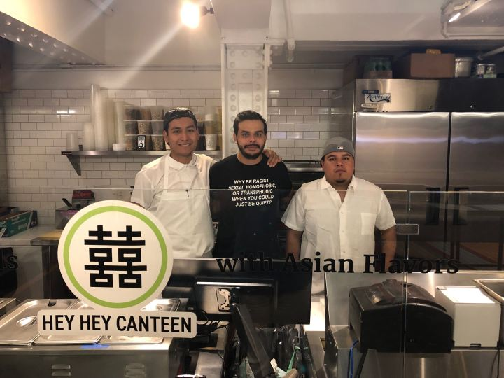 Carlos & Team from Hey hey canteen