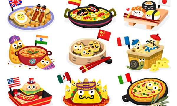 food around world